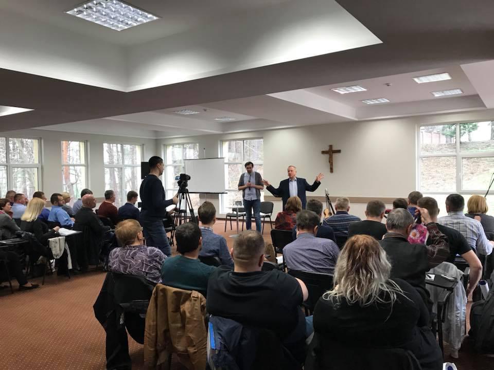Пасторський Ретріт з пастором Девідом Кареєм у Львові